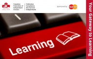 A cost-efficient online training and education program for CFIG Members