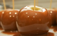 Caramel apples from Rocky Mountain Chocolate Factory