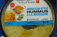 President's Choice brand Moroccan-Style Hummus recalled