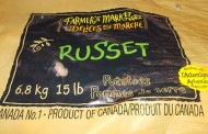 Farmer's Market brand and Strang's Produce brand Russet Potatoes  recalled