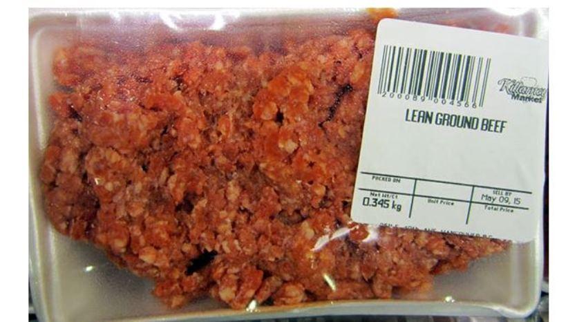 Food Recall Killarney Market brand ground beef