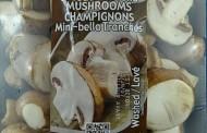 Champ's Sliced Mini bella Mushrooms recalled