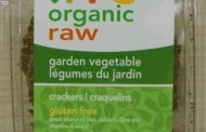 Live Organic Raw brand Garden Vegetable Crackers recalled