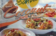 Santan brand coconut milk powder and instant coconut cream powder recalled
