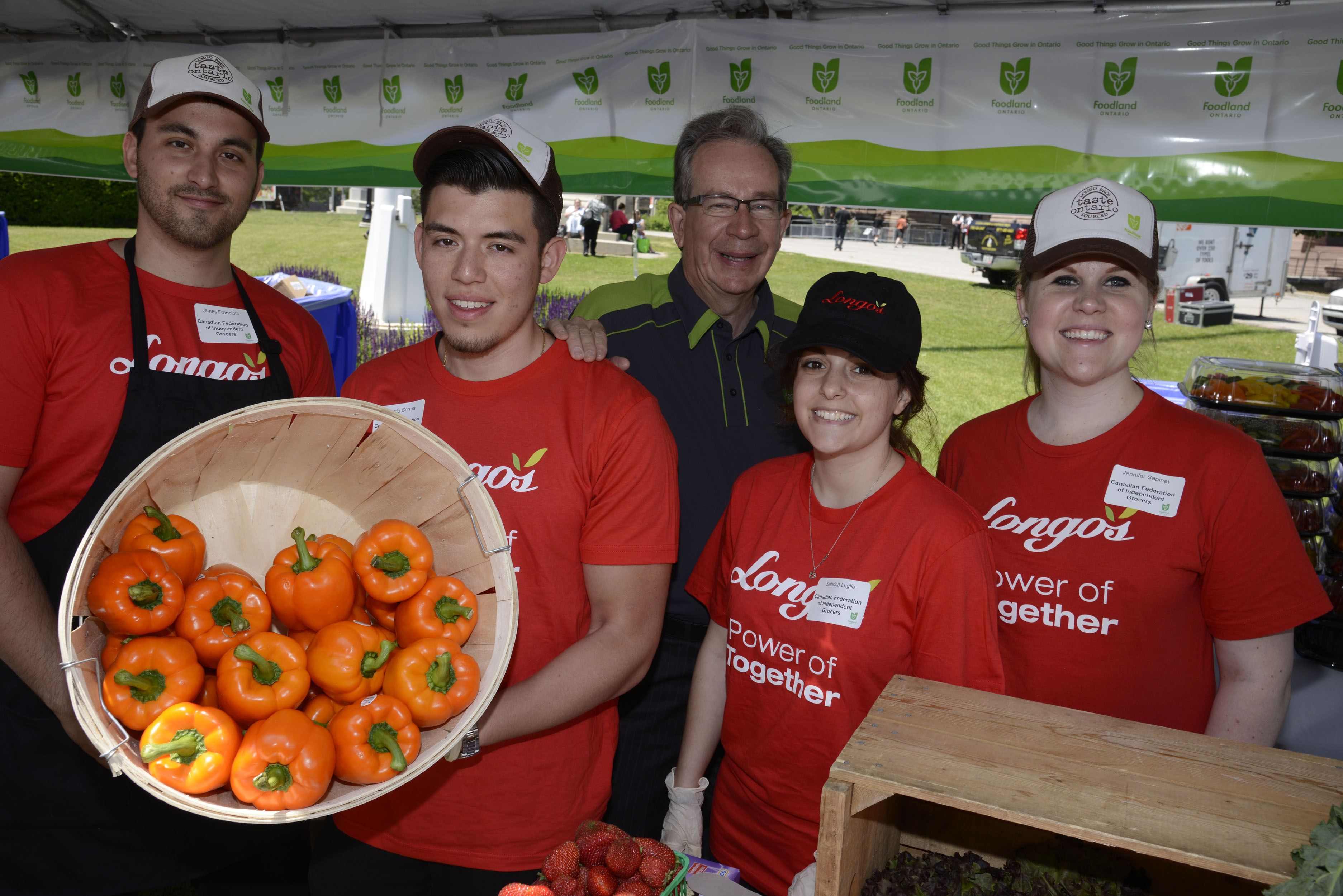 Longo's celebrates Local Food Week at Queen's Park