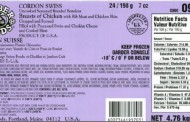 Barber Foods brand uncooked stuffed chicken recalled