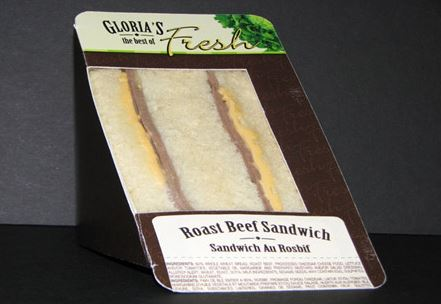 Gloria's brand and Lunch Box Roast beef sandwich products recalled