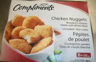 no name and Compliments brands frozen uncooked breaded chicken products recall warning