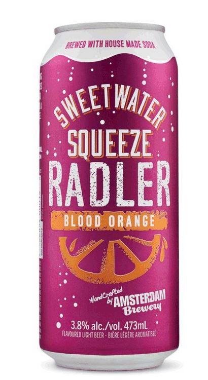 amsterdam brewery brand sweetwater squeeze blood orange radler recalled cfig canadian. Black Bedroom Furniture Sets. Home Design Ideas