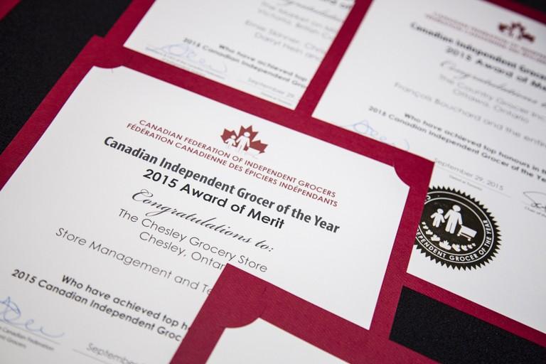 2015 Award of Merit winners