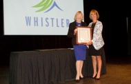 Sue Adams of Whistler Grocery Store receives prestigious award