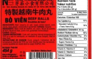 Nha Trang Deli Inc. brand meat balls and rolls recalled