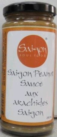 Saigon Soul Food brand Saigon Peanut Sauce recalled