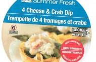 Summer Fresh brand 4 Cheese & Crab Dip recalled