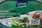 Losos brand Fish Salad Neptun contains undeclared wheat