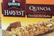 Quaker Harvest brand Quinoa Granola Bars recalled