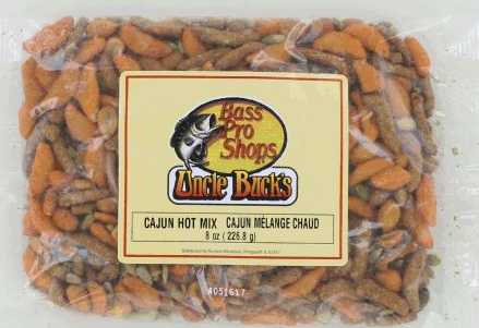 Updated: Cabela's Classic Candies brand Cajun Hot Mix and Uncle Buck's brand Cajun Hot Mix, Sunflower Kernel, and Sweet & Salty Trail Mix recalled
