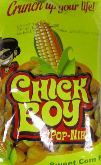 Chick Boy brand Pop-Nik snack products recalled