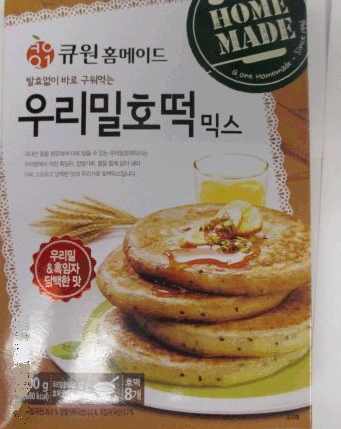 Q.One brand Korean Pancake Mix with Black Sesame recalled