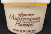 Trader Joe's brand Mediterranean Hummus recalled