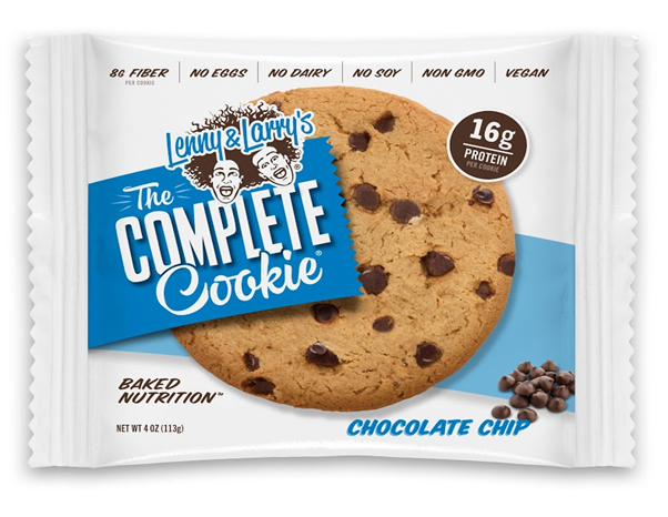 Lenny and Larry's The Complete Cookie brand chocolate chip cookies recalled
