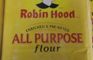 Food Recall Warning - Robin Hood brand All Purpose Flour, Original recalled due to E. coli O121