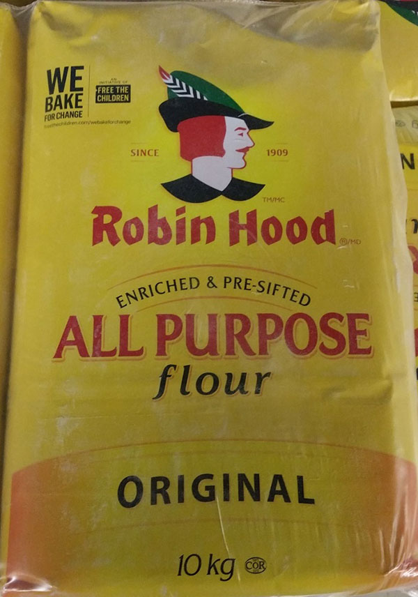 Food Recall Warning - Robin Hood brand All Purpose Flour, Original recalled due to E. coli O121