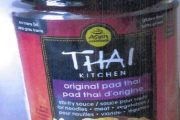 Thai Kitchen brand Original Pad Thai Stir-fry Sauce recalled due to undeclared peanut
