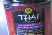 Thai Kitchen brand Original Pad Thai Stir-fry Sauce recalled due to undeclared peanut