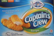 High Liner Captain's Crew brand Breaded Fish Strips and Breaded Fish Nuggets recalled due to undeclared milk