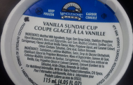 Updated Wholesome Farms brand Sundae Cup products recalled