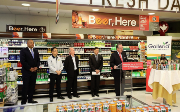 Province Cutting Alcohol Licensing Fees for Independent Grocers