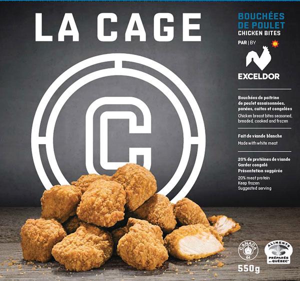 La Cage brand Chicken Bites recalled due to undeclared milk