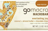 GoMacro brand Everlasting Joy Coconut + Almond Butter + Chocolate Chips Macrobar recalled due to Listeria monocytogenes