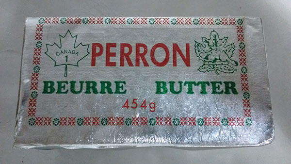 Perron brand and Beurre du Lac brand Butter recalled due to Listeria monocytogenes