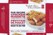 President's Choice brand Pub Recipe Chicken Nuggets recalled