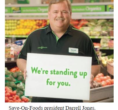 Save-On Foods offers $25 rebate