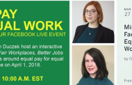 Ontario Ministry of Labour Facebook Live Event: Equal Pay for Equal Work