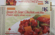 Updated: KJ brand Sweet & Sour Chicken with Rice and Sesame Chicken with Rice recalled
