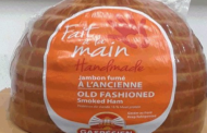 Gaspésien brand ham products recalled