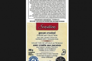 Sensations brand Pecan-Crusted Cheesecake Collection recalled