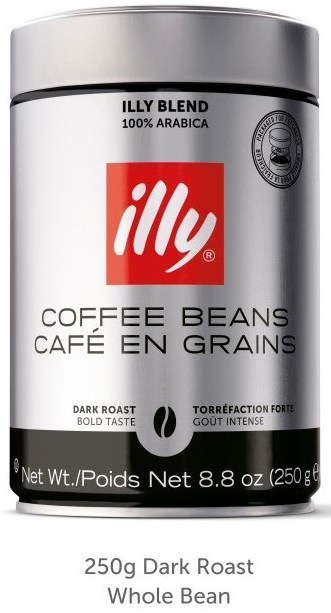 illy brand whole coffee beans recalled