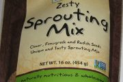 Now Real Food brand Zesty Sprouting Mix Recalled
