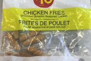 Certain $10 Chicken Fries recalled due to Salmonella