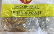 Certain $10 Chicken Fries recalled due to Salmonella