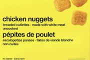 Certain No Name brand Chicken Nuggets recalled due to Salmonella