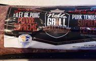 Noble Grill Premium brand Pork Tenderloin Supreme Pepper Recalled