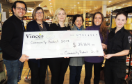 Local charities receive funds from  Vince's Market's first 'Community Product Initiative'