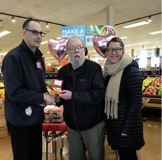 Colemans Makes Presentation to the Community Food Sharing Association