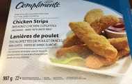 Compliments brand Chicken Strips recalled due to Salmonella